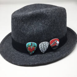 Scatter Pins on Hat